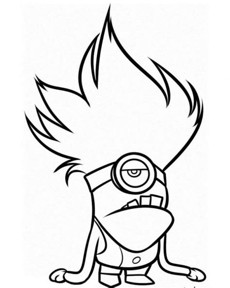 printable coloring pages minions free coloring pages of minion