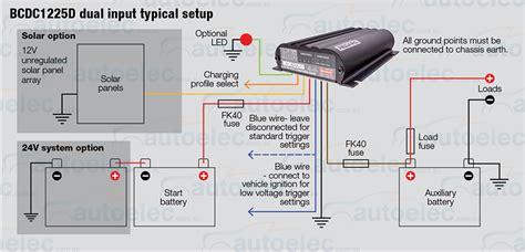 wiring diagram redarc dual battery system efcaviation