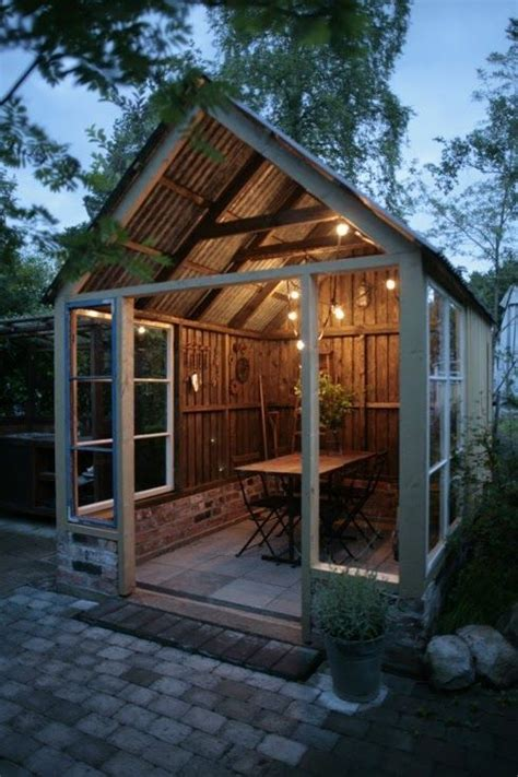 ideas  party shed  pinterest