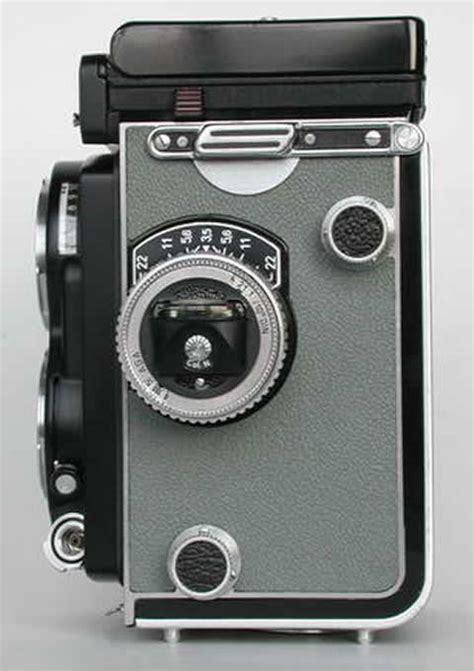 Rolleiflex T Type 1 Grey Maier rollei t1 gray left club rollei user
