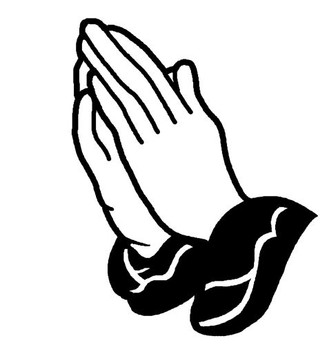 praying hands vector clipart best