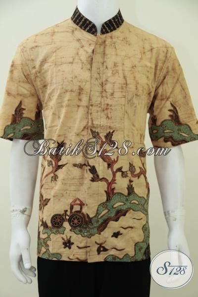 Baju Koko Motif Minimalis hem batik koko lengan pendek warna dengan motif