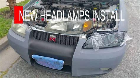 02 Sentra Spec V by 02 Nissan Sentra Se R Spec V Headls Installed