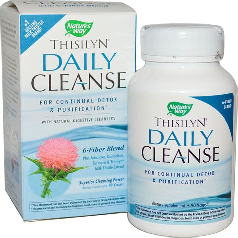 Detox Daily Power Cleanse by Nature S Way Thisilyn Daily Cleanse 90 Vcaps Iherb