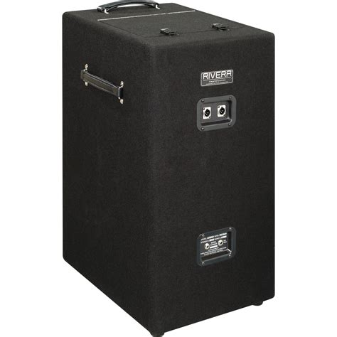 Isolation Cabinet by Rivera Silentsister 1x12 Guitar Isolation Speaker Cabinet