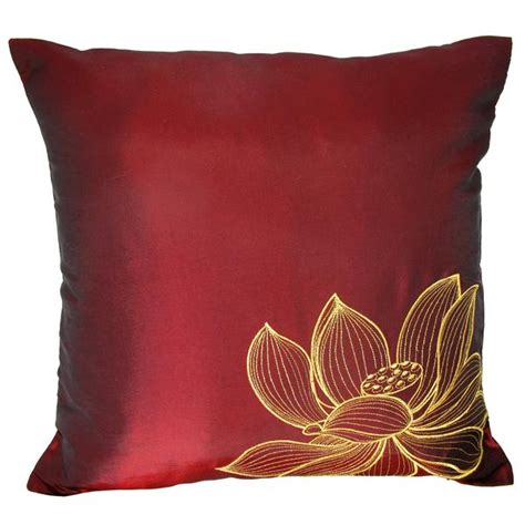 How To Clean Silk Pillows by Lotus Red Grande Jpg V 1413232274