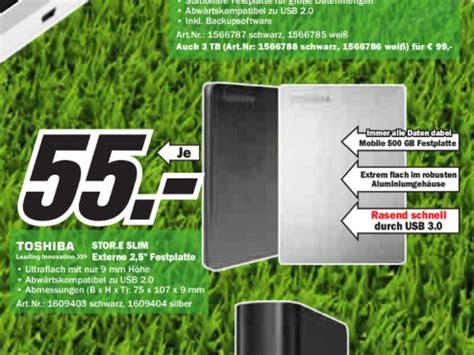 Toshiba Externe Festplatte 2tb 270 by Media Markt Prospekt Zum 30 Mai Bilder Screenshots