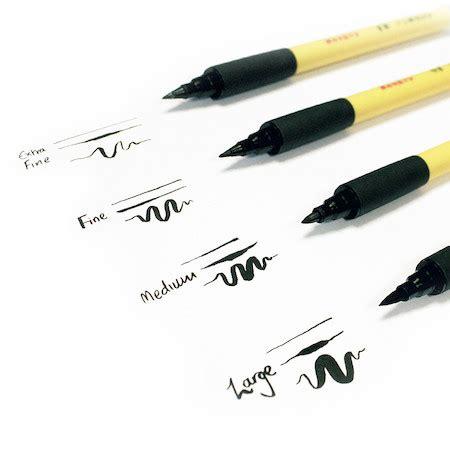 Ink Brush Pen kuretake bimoji fude brush pens cult pens