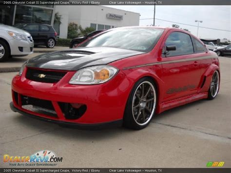 chevrolet cobalt ss supercharged coupe victory red