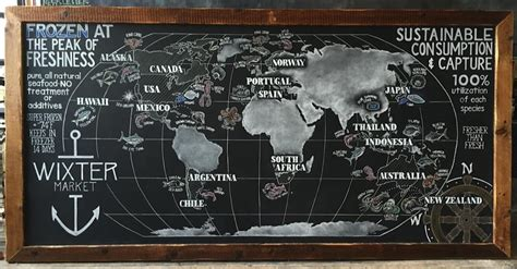 chalk paint indonesia chalkboard world map and retail boards for wixter