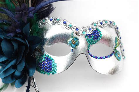 Masker Respirator peacock mask themed masquerade wedding ideas masque b