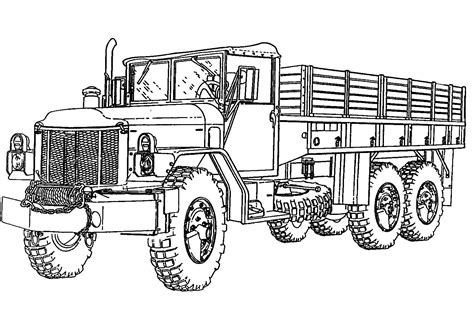 coloring pages of army trucks army truck coloring pages coloring pages