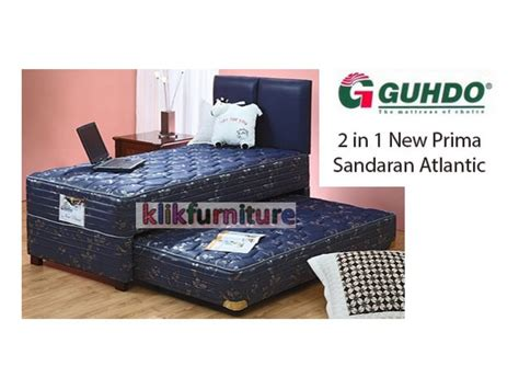 Bed Guhdo New Prima bed guhdo 2 in 1 new prima sandaran atlantic