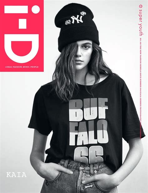 d magazine kaia gerber i d magazine 2018 cover fashion editorial
