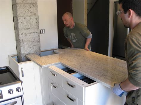 Install Countertop by Adventures At 1628 Kitchen Part Iii