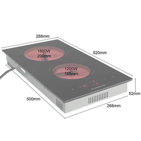 piano cottura in vetro ceramica piano cottura in vetroceramica autosufficiente con sensore