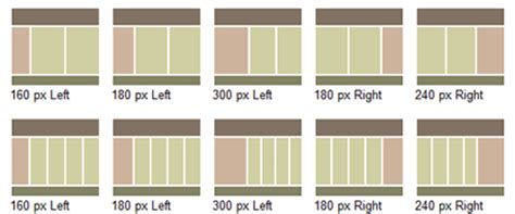 html css layout 3 column 9 timeless 3 column layout techniques noupe