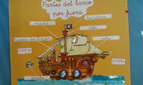 dibujo de un barco y sus partes blog educacion infantil ceip virgen del monte partes del
