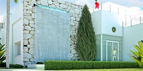 in house waterfall designs amazing modern garden waterfall designs houses models