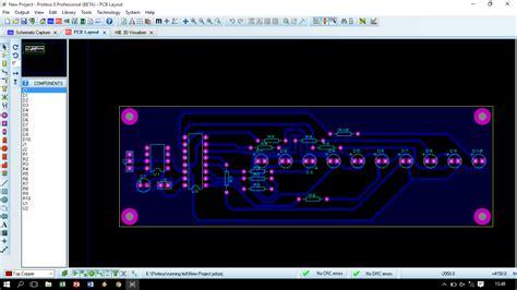 layout running led membuat layout pcb rangkaian dimmer dan rangkaian running