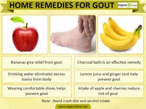 gout home remedies 7 best home remedies for gout organic facts