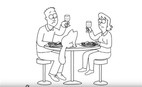 Camouflage Challenge Simon S Cat Guide To simon s cat in dinner date just desserts neatorama