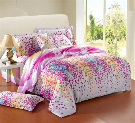 girls full size comforter bedding sets for king size bed cheap cheerful colorful