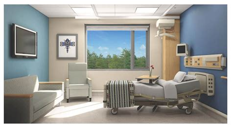 cvh typical inpatient room 171 island hospital project - Typical Room