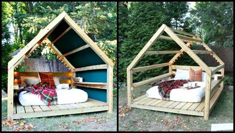 build a cabana unwind in your backyard with a cozy diy outdoor cabana