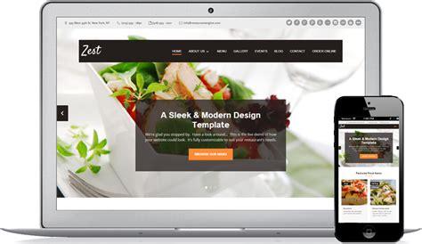 design restaurant online restaurant website design solution