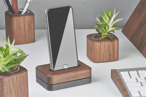 For All Phone Bahan Softclear 1 grovemade s dock for iphone nestles your handset with
