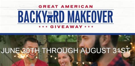 the great american backyard giveaway 2017 2018 usascholarships com - Great American Sweepstakes