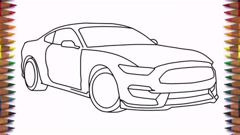 How To Draw Classic Cars