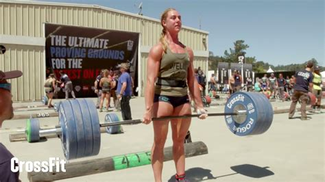 Bench Workouts by The Crossfit Games Women S Ranch Deadlift Ladder Youtube