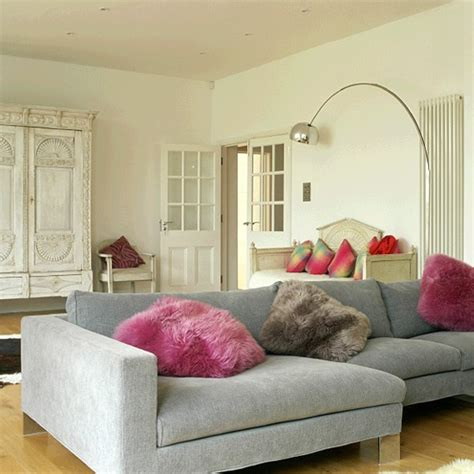 Living Room With Corner Sofa by Living Room With Corner Sofa L And Armoire
