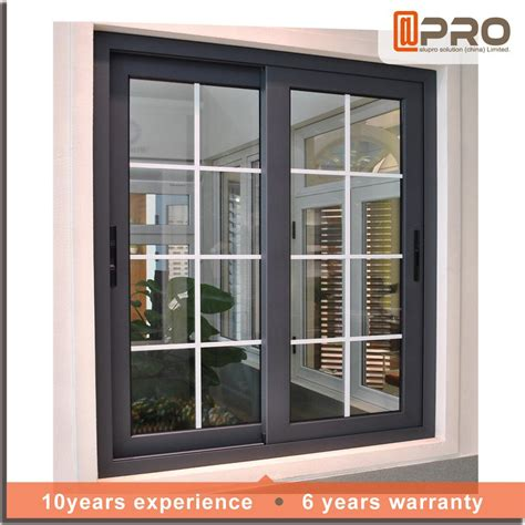 home windows grill design 2016 new product modern house aluminum windows style of