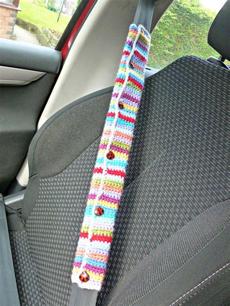 seat belt cover pattern crochet patterns galore car seat belt cover
