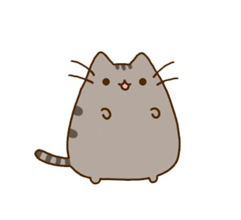 imagenes uñas kawaii um otaku kawaii png s pusheen the cat