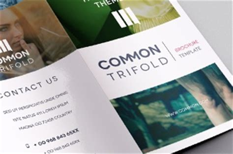 simple tri fold brochure template premium and free brochure templates pixeden