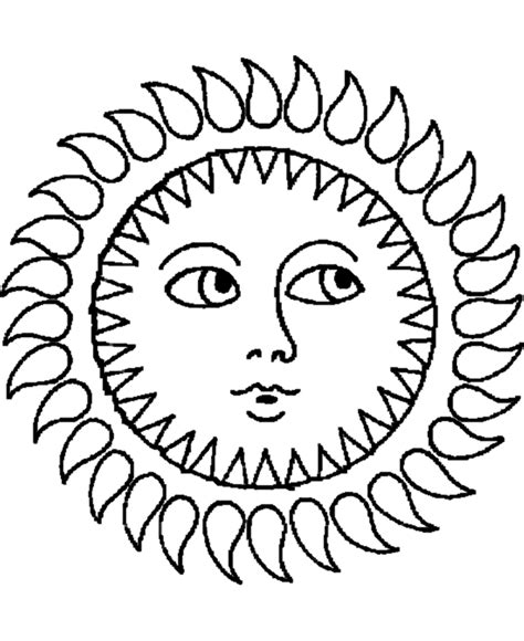 sun coloring page pdf sun and moon coloring pages coloring home