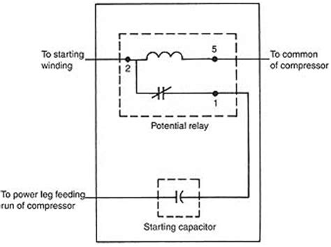 refrigeration potential relay refrigeration