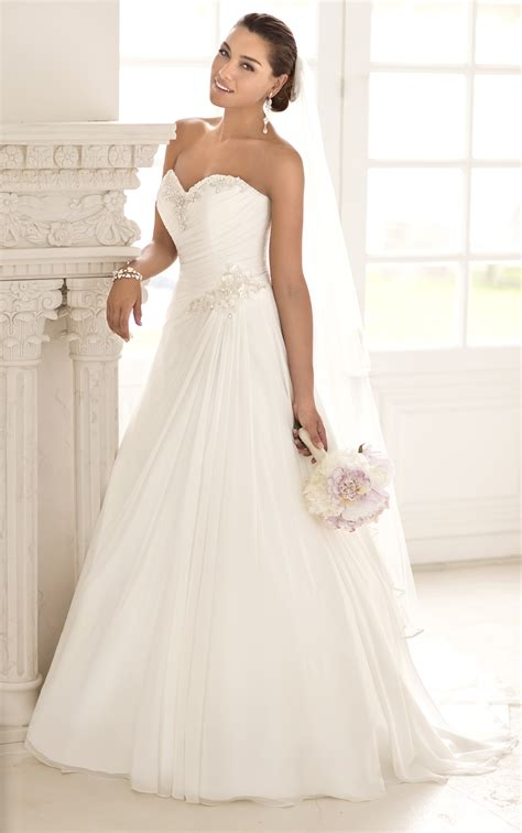 desain dress simple elegan wedding dresses simple elegant wedding dresses stella york