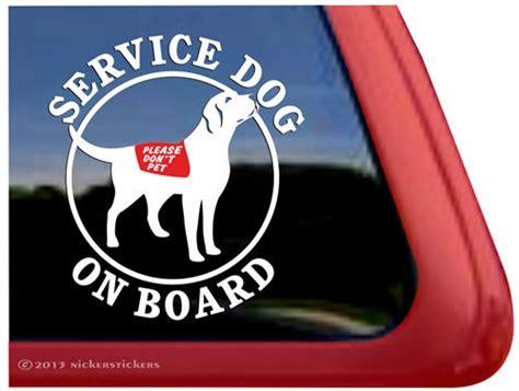 House Design Program Ipad by Service Dog Labrador Retriever Decals Amp Stickers