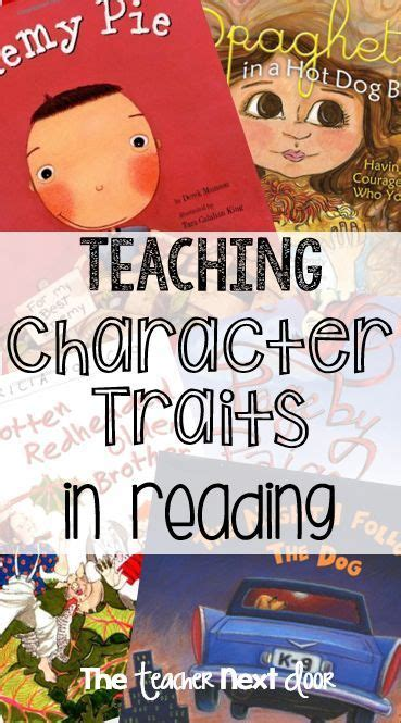 picture books character traits 195 best images about character traits in reading on