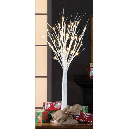 stick christmas trees with lights time 3 stick tree white walmart