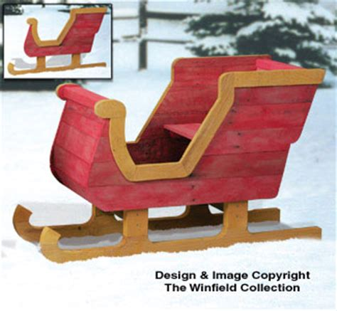 Wood Santa Sleigh Plans