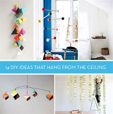How To Hang A Mobile From The Ceiling by Let S Hang Out 14 Diy Ideas That Hang From Ceiling