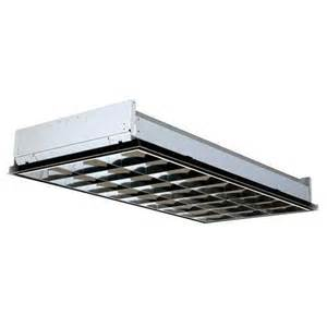fluorescent 2x4 light fixtures lithonia lighting pt3lw mv 2x4 lay in 18 cell 3 l