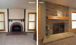 fireplace update how to update your fireplace design