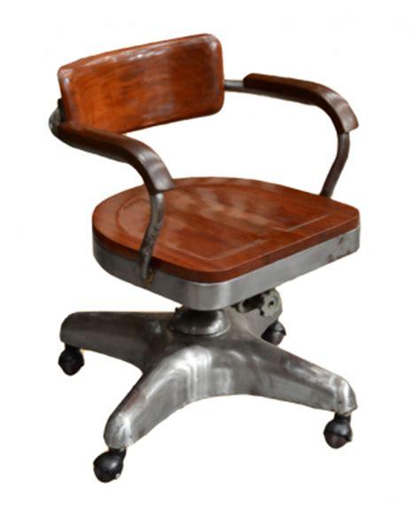 chaise de bureau industriel fauteuil de bureau industriel en acier 224 roulettes